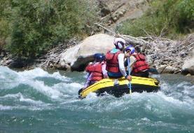 سامان؛ مهد قایقسواری در آبهای خروشان