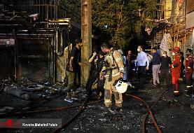 آخرین جزئیات از آتش سوزی درمانگاه سینا