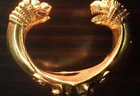 دستبند زرین دژ باستانی زیویه نماد شهری میشود