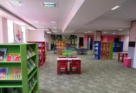 بزرگترین کتابخانه خیرساز کشور