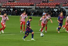 توقف بارسلونا در شب ۷۰۰ گله شدن مسی