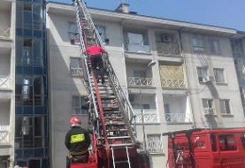 وقوع ۲ حادثه آتشسوزی در رشت/ حریق مهار شد