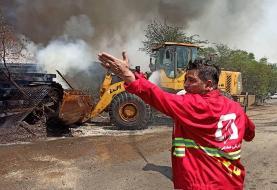 ابتلا ۵۲ آتشنشان اهوازی به ویروس کرونا تا کنون