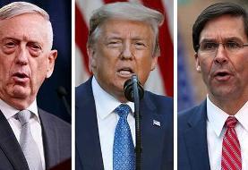 مخالفت نظامیان آمریکا با تصمیمهای ترامپ
