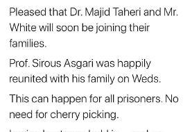 تایید تبادل زندانیان ایرانی و آمریکایی از طرف ظریف