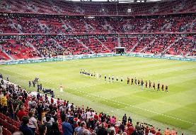 تصاویر   ۱۰ هزار تماشاگر در فینال جام حذفی مجارستان