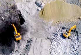 پرسه سایه مرگ بر معدن «بیتومین» ایوان | کارفرما اجازه ورود به بازرسان را نمیدهد!