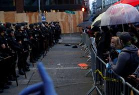 Seattle protesters are using umbrellas to block pepper spray and tear gas, mirroring tactics ...