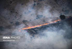 حریق در مناطق جنگلی ایران؛ آتش در اندیکان، بازداشت عاملان آتشسوزی خائیز
