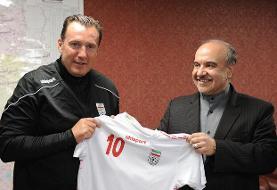 تاج: وزیر ورزش ویلموتس را معرفی کرد