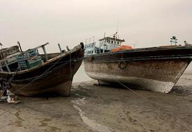 یک کشتی باری ایران در آبهای سرزمینی عراق غرق شد
