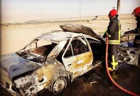 حادثه خودروی اتباع بیگانه در یزد/ ۳ نفر در صندوق عقب خودرو جان باختند/ ...