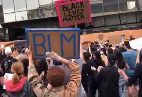 معترضین به نژاد پرستی در آمریکا به دفتر آکادمی اسکار رسیدند!