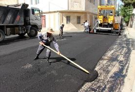 اجرای ۲۴۷ هزار متر مربع آسفالت در معابر شیراز