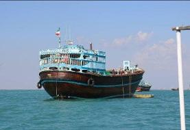 انتقال نجات یافتگان و جان باختگان حادثه کشتی ایرانی به بصره