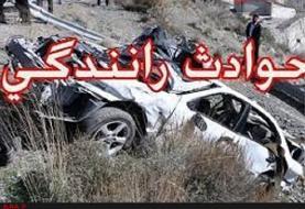 ۵ کشته و زخمی به دلیل واژگونی خودرو در همدان
