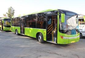 اضافه شدن ۵۰ اتوبوس جدید به ناوگان شهری یزد