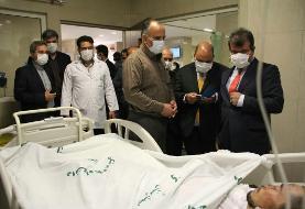 سفیر افغانستان از اتباع غیرمجاز مجروح در یزد عیادت کرد