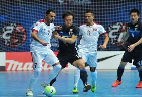 AFC معطل ترکمنستان برای فوتسال قهرمانی آسیا
