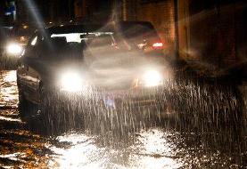 وقوع رگبار باران در برخی استانهای کشور