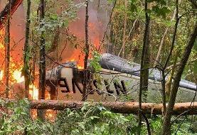 مرگ خانواده ۵ نفره در پی سقوط هواپیمای شخصی در آمریکا