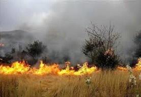 آتشسوزی مزارع کشاورزی هلیلان مهار شد