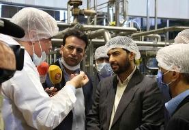 بازدید سرپرست وزارت صنعت از کارخانه جات میهن