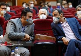 جلسه رسیدگی به اتهامات اکبر طبری /عکس