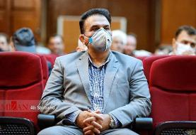 (عکس) بازپرس صادرکننده حکم فیلتر تلگرام در دادگاه اکبر طبری