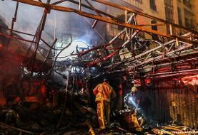 در آتشسوزی کلینیک سینا اطهر در تهران ۱۹ نفر جان باختند