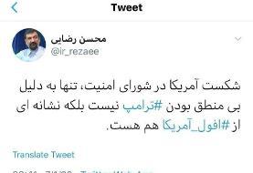واکنش محسن رضایی به جلسه شورای امنیت