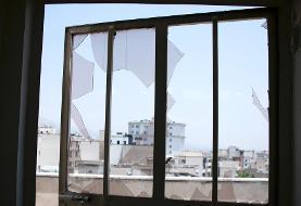 (تصاویر) کلینیک سینا پس از آتش سوزی و انفجار