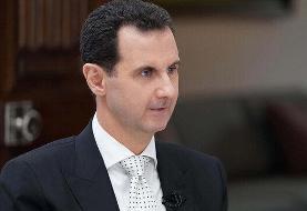 بشار اسد: توافق تهران و دمشق نشانگر سطح روابط دو کشور است