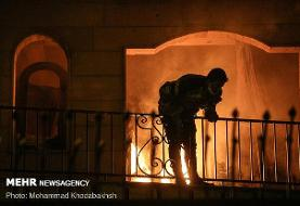 جزئیات جدید از سانحه کلینیک سینا اطهر/ تخلف آتش نشانی مشهود است