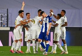 رئال مادرید در آستانه قهرمانی لالیگا قرار گرفت