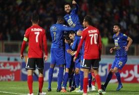 نصف استقلال مقابل تراکتور/رقابت پنج بعلاوه یک تیم برای سهمه آسیا
