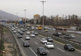 افزایش ۷.۳ درصدی تردد/ ترافیک نیمه سنگین در آزادراه قزوین-کرج