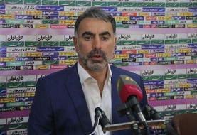 فکری: طرفداران نفت مسجد سلیمان دوست داشتند نساجی به لیگ بیاید