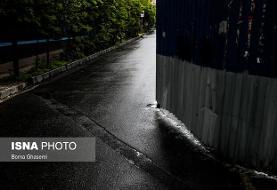 بارش پراکنده باران در استان های شمالی کشور