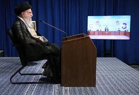 دیدار متفاوت نمایندگان جدید مجلس با رهبر انقلاب