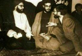 تصویر کمتر دیده شده از شهید ابومهدی المهندس و  سیدحسن نصرالله
