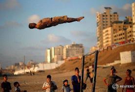 عکس روز/ پرواز در غزه