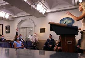 Reporter tests positive for the coronavirus after attending two White House press briefings with ...