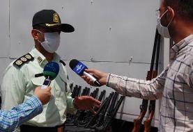انهدام باند قاچاق سلاح با کشف ۲۰۰ قبضه اسلحه جنگی در اصفهان