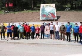 آغاز تمرینات تیم کشتی فرنگی ترکیه در یک اردوگاه