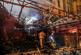ناجا: آتش سوزی کلینیک سینا به هیچ وجه امنیتی نبود