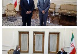 (عکس) خداحافظی سفیر اسپانیا با ظریف