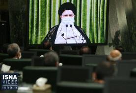 ویدئو / گزیده بیانات رهبری در دیدار تصویری با نمایندگان مجلس
