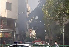 آتشسوزی میدان فردوسی ربطیبه تجهیزات برقی نداشت