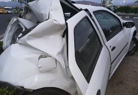 تصادف مرگبار کامیون با ال ۹۰ در بزرگراه شهید بابایی